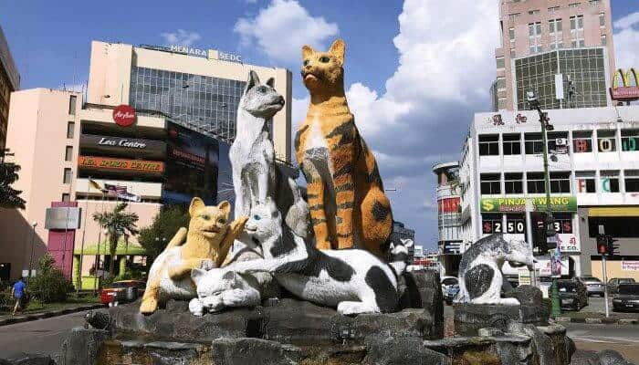The Big Cat Statue
