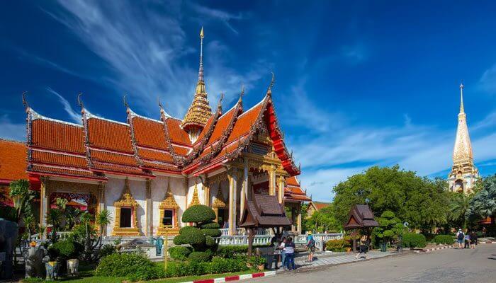Wat Chalong Temples Phuket