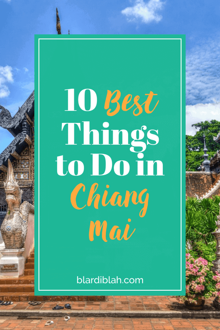 10 Best Things to Do in Chiang Mai Thailand