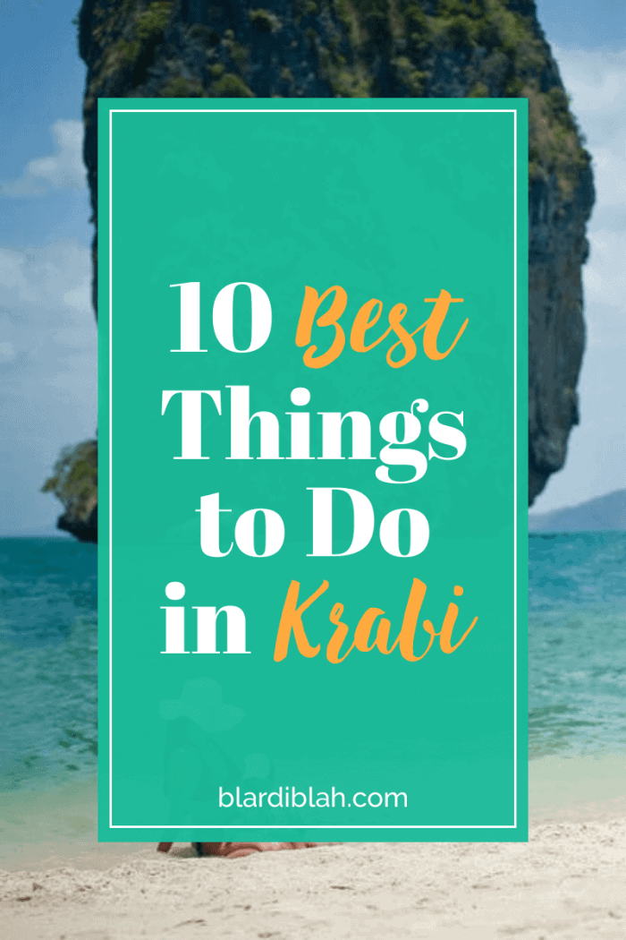 10 Best Things to Do in Krabi Thailand