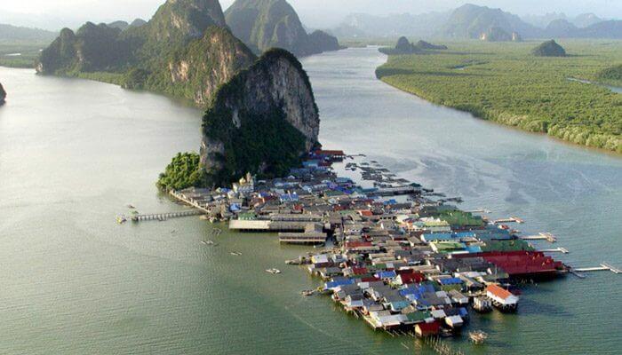 Floating Village Krabi