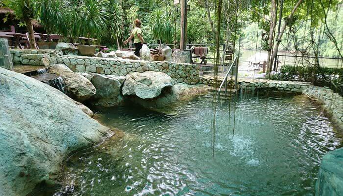 Hindad Hot Springs Kanchanaburi Thailand