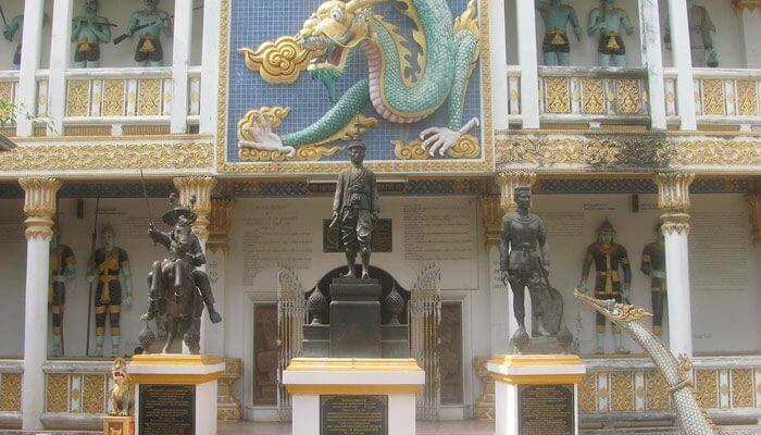 Jeath War Museum Kanchanaburi Thailand