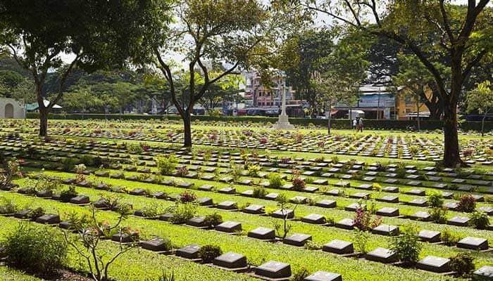 Kanchanaburi War Cemetery Kanchanaburi Thailand