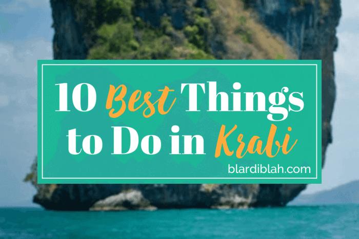 Top Ten Places to Visit in Krabi