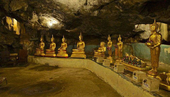 Wat Tham Khao Poon Kanchanaburi Thailand