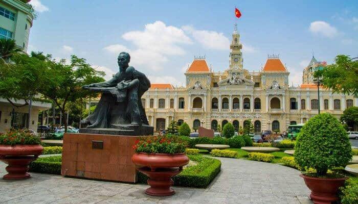 Central Post Office Ho Chi Minh City Vietnam