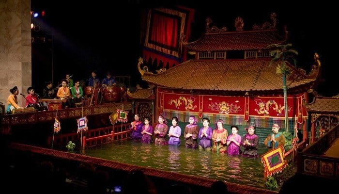 Dragon Water Puppet Show Ho Chi Minh City Vietnam
