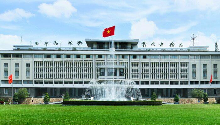 Reunification Palace Ho Chi Minh City Vietnam