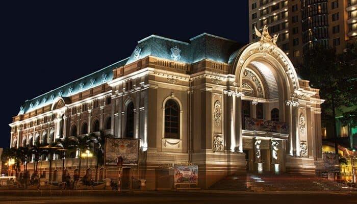 Saigon Opera House Ho Chi Minh City Vietnam