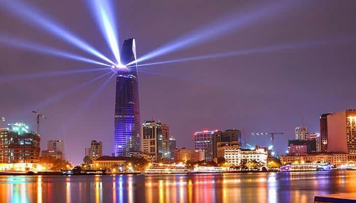 Scale the Bitexco Financial Tower Ho Chi Minh City Vietnam