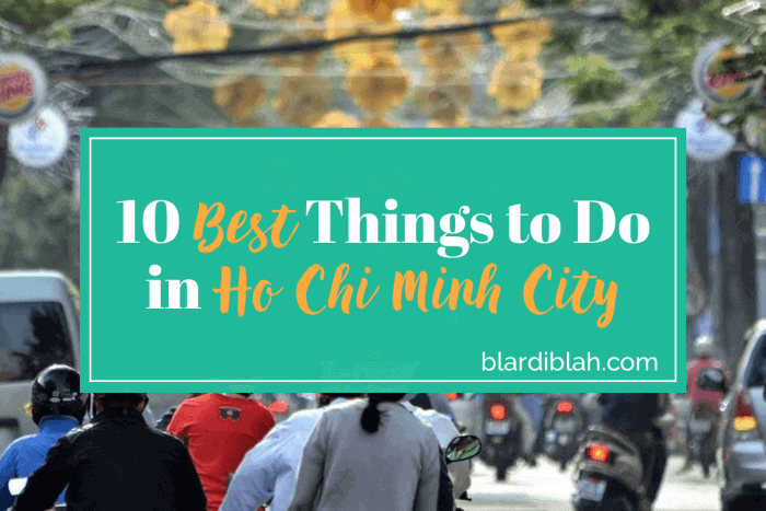 Top Ten Places to Visit in Ho Chi Minh City