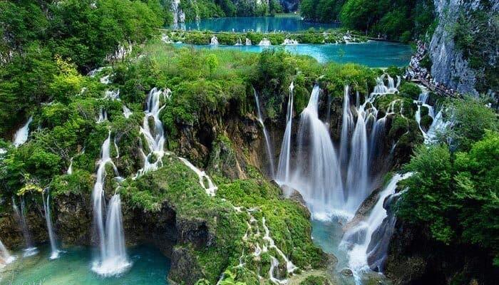 Waterfalls in Yang Bay Nha Trang Vietnam