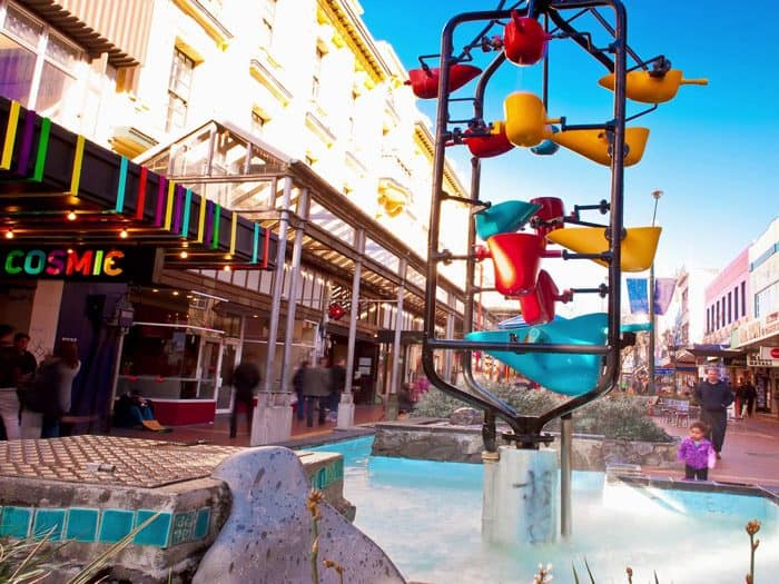Cuba Street Shopping