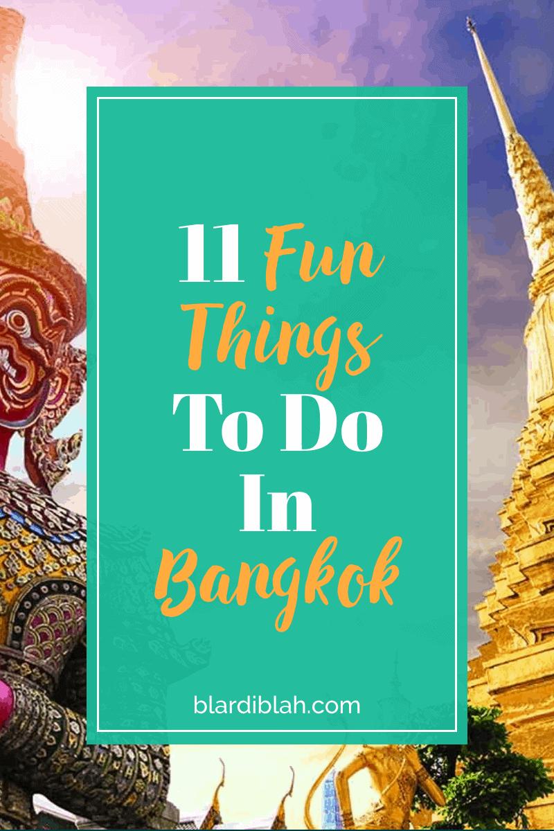 11 Fun Things To Do In Bangkok