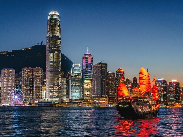 Visit in Hong Kong