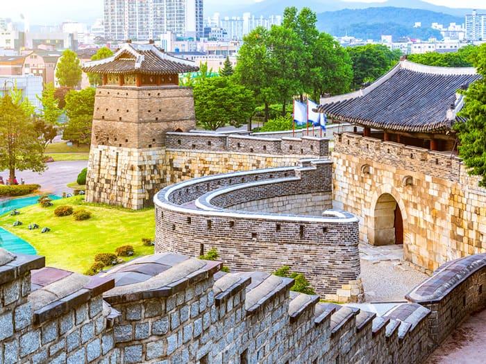 Suwon's Hwaseong Fortress