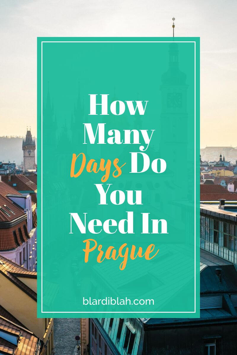 How Many Days Do You Need In Prague