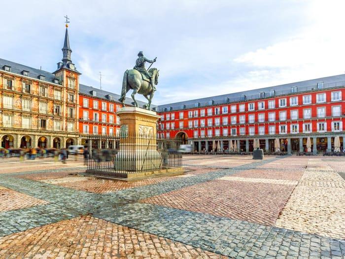 Plaza Mayor the Heart of Madrid